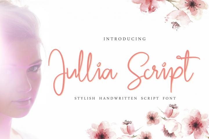 Jullia Script Font