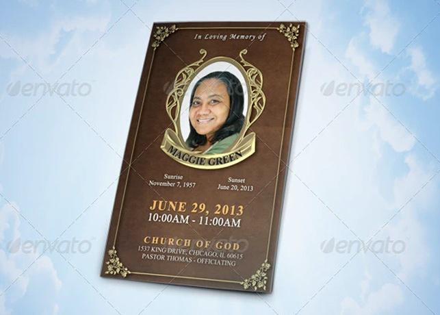 Legacy Funeral Program