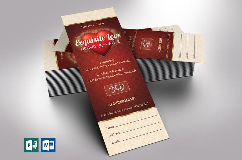Valentines Ticket